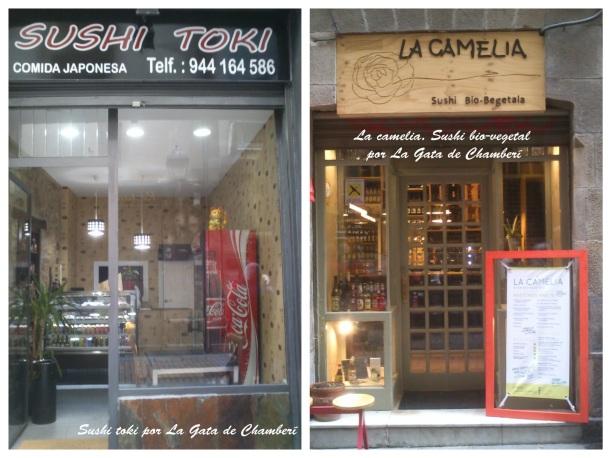 Sushi toki y La camelia por la gata